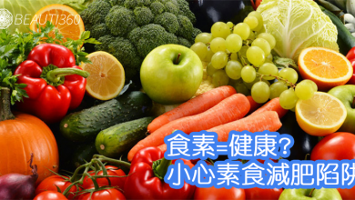 Photo of 食素就健康?小心素食減肥陷阱 素肉熱量比一般肉類還要高