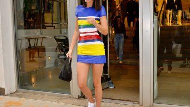Photo of 名模名星同款抗熱減齡穿搭!4種方法讓懶人裝「連身短裙+白波鞋」變得更具魅力